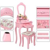 """Fésülködő asztal Madame """"Pink"""" Clotilde"""