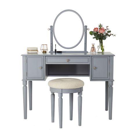"""Fésülködő asztal Charlotte """"Grey"""" Savoy"""